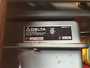Delta Radial Arm Saw Motor Starter Cat No 52 702