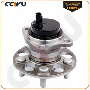 Rear Wheel Hub And Bearing Assembly New 5 Lugs For Prius Technology Hatchback