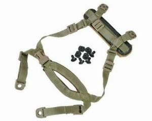 4 Points Tactical Helmet Chin Strap With Bolts And Screws For MICH ACH