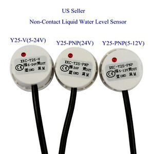 Us Non contact Liquid Water Level Sensor Induction Switch Detector Y25 v y25 pnp