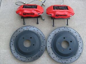 Ap Racing 4 Piston Brake Caliper Nissan Cp6600 Kit Big 13 Rotor
