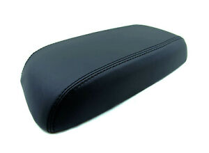 Fits 05 07 Ford Escape Black Real Leather Center Console Armrest Cover