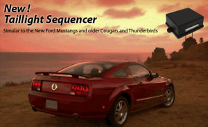 Tail Light Sequencer Modular Brake Light Sequencer Kit 2012 Mustang