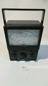 Simpson Volt ohm milliammeter Model 260 6xlpm L k