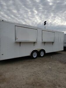 Never Used 2019 Nexhaul Rocket 8 5 X 24 Kitchen Food Concession Trailer For Sa