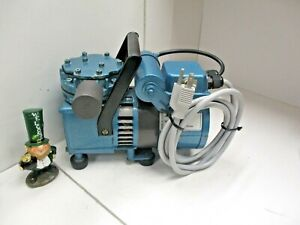 Millipore Waters Vacuum Pump Model Pu72 225 84 Good Working Condition