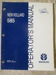 New Holland 585 Baler Operators Manual 42058510