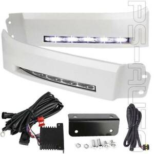 For 2007 2013 Toyota Tundra Sequoia Led Bumper Filler Fog Light Lamps With