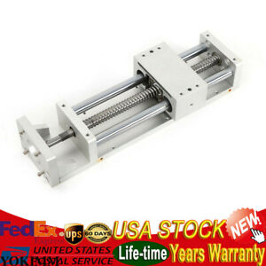 200mm Electric Sliding Table Sfu1605 Ball Screw Linear Stage Cnc Slide Stroke