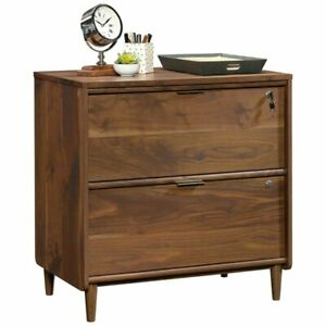 Sauder Clifford Place 2 Drawer Lateral File Cabinet In Grand Walnut