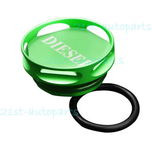 Hollow Out Diesel Gas Fuel Cap Magnetic Billet For Dodge Ram 1500 2500 3500 New