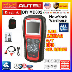Car Obd2 All Systems Diagnostic Tool Scanner Engine Airbag Sas Abs Srs Us Autel