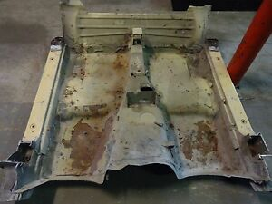 1977 Corvette Floor Pan 4 Speed