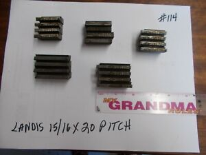 Landis Thread Chasers 15 16 X 20 Pitch used