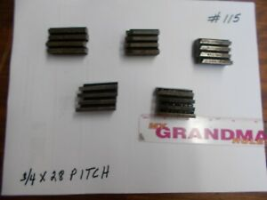 Landis Thread Chasers 3 4 X 28 Pitch used