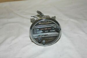 Vintage Ford Magic Aire System Heater Control Unit Round Good Condition