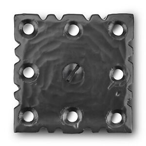 Door Clavos Decorative Nails 2 Rustic Hammered Iron Black Finish Hand Crafted