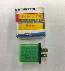 Nos Oem Datsun Nissan Egi Pump Relay Part 25230 W1300 280zx