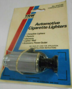 Trw Universal Automotive Cigarette Lighter Assembly Kit Car Truck Made In Usa