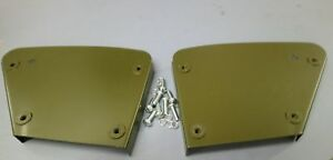 Ford Gpw Willys Mb Hip Pad Metal Plates Complete With Fixing Screws Pair