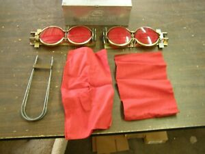 Oem Ford 1960 s Accessory Road Reflector Emergency Kit Truck Mustang Galaxie
