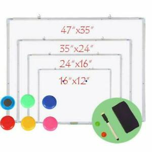 School Office Work Whiteboard Eraser Marker Calendar Magnetic Dry Erase Board