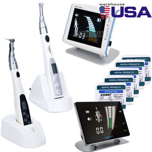 Dental 16 1 Led Endo Motor Cordless Handpiece Apex Locator Super Files New Usa
