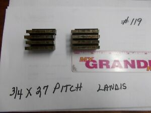 Landis Thread Chasers 3 4 X 27 Pitch used