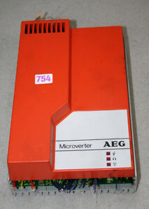 Aeg Microverter Lc 2 5 200 Classified 220v Frequency Converter 7a Nr 029 102