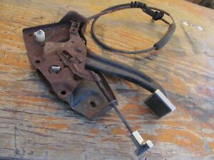 1966 Mercury Comet Caliente Emergency Brake Pedal Assembly