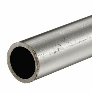 304 Stainless Steel Round Tube 1 1 2 Od X 0 083 Wall X 48 Long Seamless