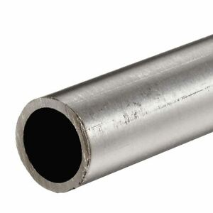 304 Stainless Steel Round Tube 1 1 2 Od X 0 083 Wall X 36 Long Seamless