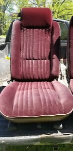 1978 1988 Oldsmobile 442 Cutlass Monte Carlo Ss Regal Bucket Seats And Rear Seat
