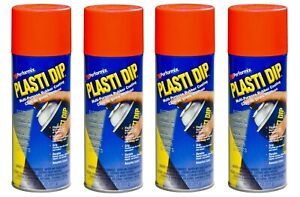 4 Plasti Dip Red Matte Liquid Wrap Removable Rubber Coating Aerosol Can