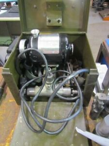 Dumore 1 4 Hp Tool Post Grinder H 455