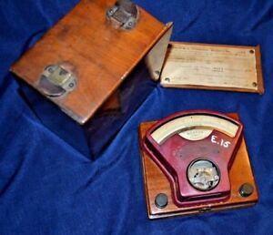 Antique Weston Direct Current Voltmeter No 4017 Apr 1916 Untested