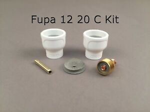 Fupa 12 Ceramic Cup Complete Kit For 9 20 Series Tig Torches