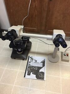 Nikon Labophot 2 Microscope With Teaching Bridge Dual Viewing Kit 4 10 40 100