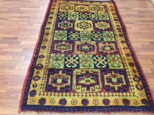 Antique Kurd Caucasian Tribal Rug 16