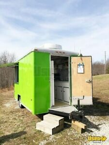 2000 7 X 12 Wells Cargo Used Food Concession Trailer For Sale In Kentucky