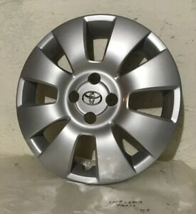 New 06 08 Toyota Yaris 15 Silver Wheel Cover Hub Cap 42602 52280