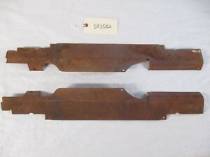 1959 1960 Chevy Wagon Rear Door Sill Wire Loom Covers L r Oem