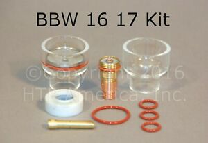 Bbw 16 Pyrex Cup Kit For 17 18 26 Series Tig Torch Made In The Usa