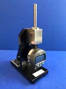 Mitutoyo Absolute C112exb Digimatic Indicator W Right Angle Heavy Duty Stand