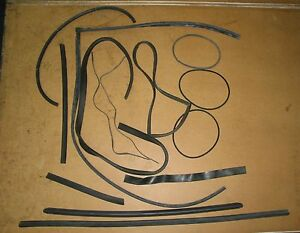 Porsche 356 Misc Rubber Parts