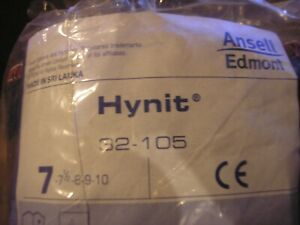 Ansell 32 105 Hynit Fully Coated Nitrile Gloves Lot Of 5 Dozen Pairs Size 7