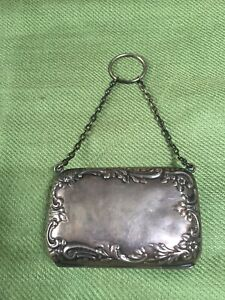 Vintage Sterling Silver Coin Purse 3091 Hcc
