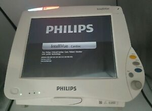 Philips Intellivue Mp50 Cardiac Patient Monitor With Portal Tech Model M8004a