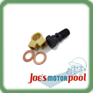 Ford Gpw Willys Mb Master Cylinder 2 Way Union Bolt Set