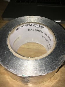 3 Brand New Raychem At 180 Foot Rolls Aluminum Duct heating Tape 540ft Total